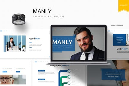 Manly   Google Slides Template