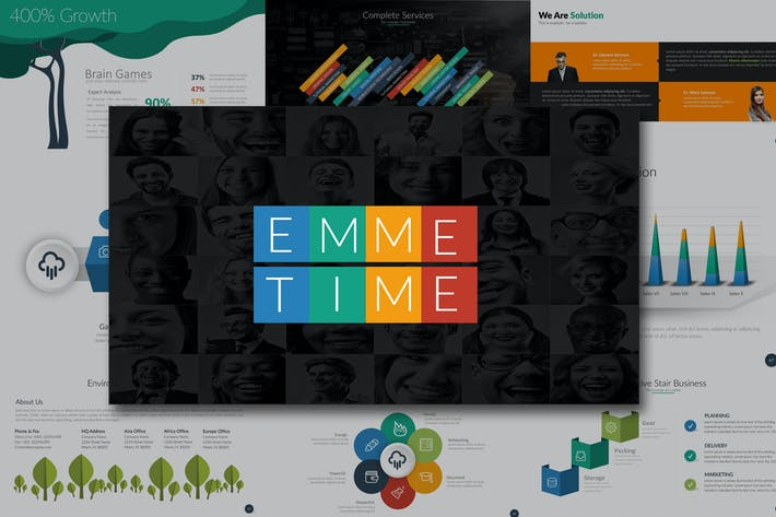 Thumbnail for EMME Business Powerpoint