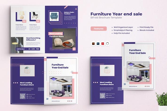 Furniture Year End Sale Bifold Brochure