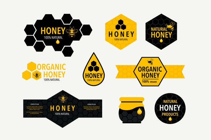 Thumbnail for Honeycomb Labels