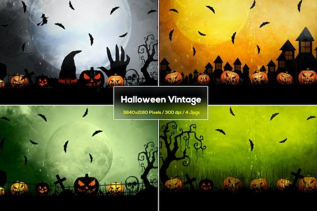 Halloween Vintage Backgrounds
