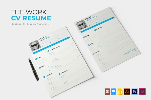 The Work   CV & Resume