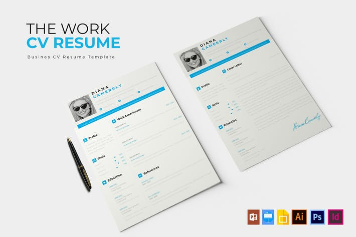 Thumbnail for The Work | CV & Resume