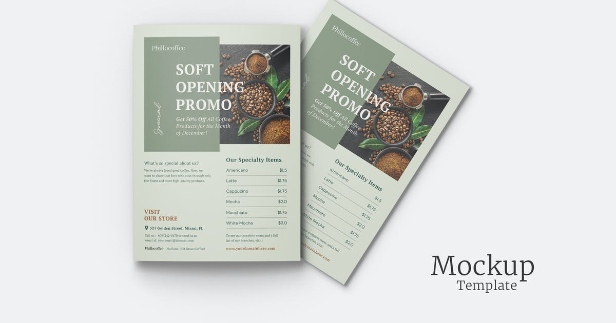 Download Realistic A4 Flyer Mockup by indotitas