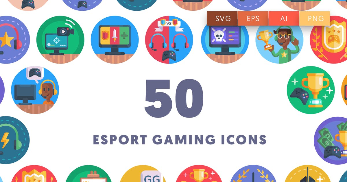 Download Esport Gaming Icons by thedighital