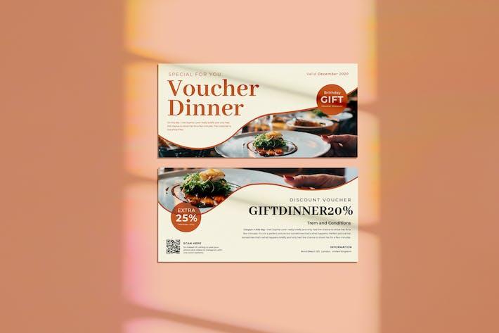 Thumbnail for Gift Dinner Voucher