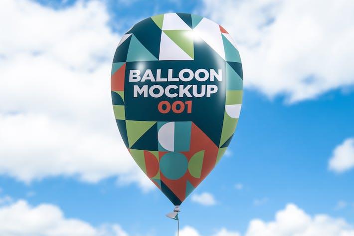 Thumbnail for Balloon Mockup 001