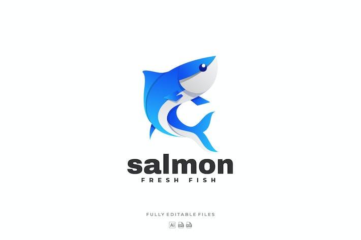 Thumbnail for Salmon Color Gradient Logo