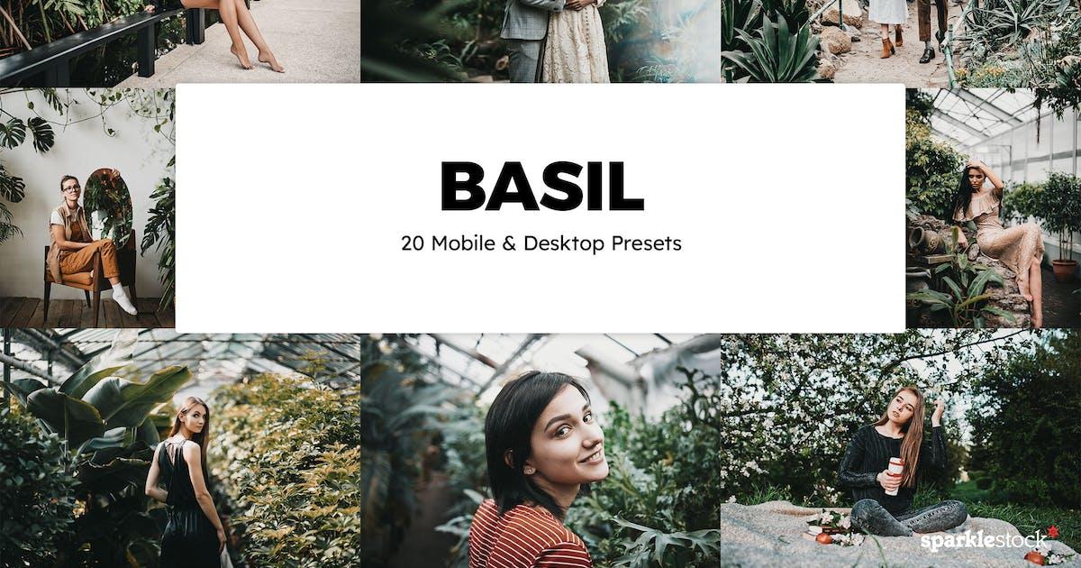 Download 20 Basil Lightroom Presets & LUTs by sparklestock