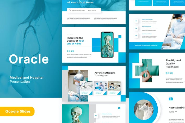 Oracle - Medical and Health Google Slides Template