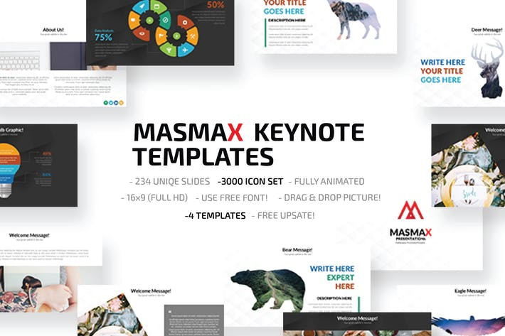 Thumbnail for Masmax Keynote Template
