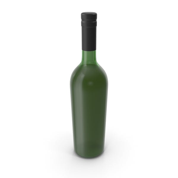Wine Bottle No Label