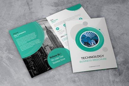 Technology Bussines - Bifold Brochures