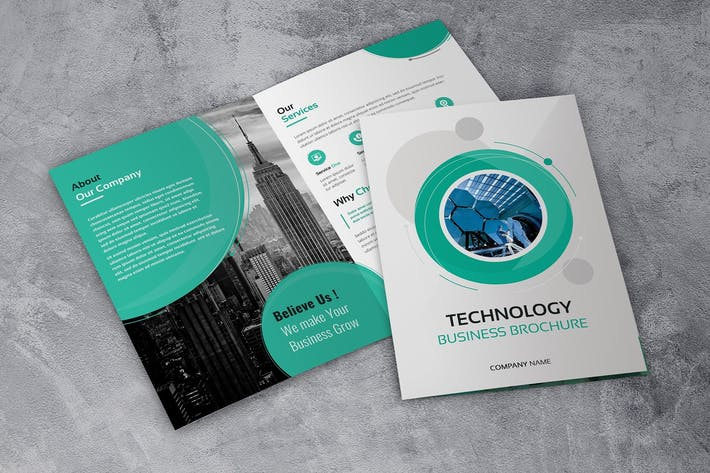 Thumbnail for Technology Bussines - Bifold Brochures