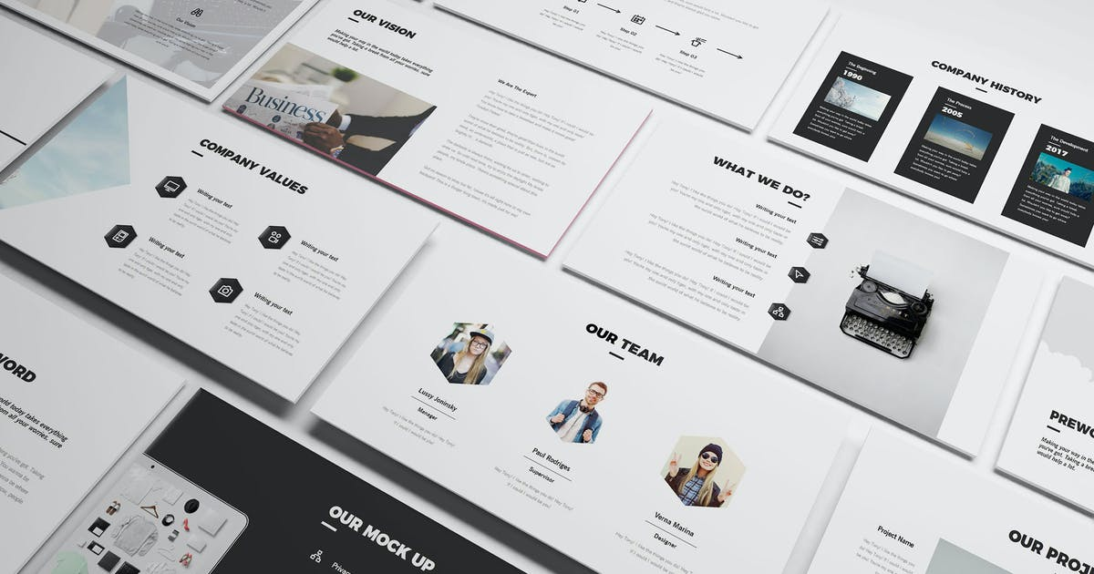 Creative Google Slides Template by Unknow