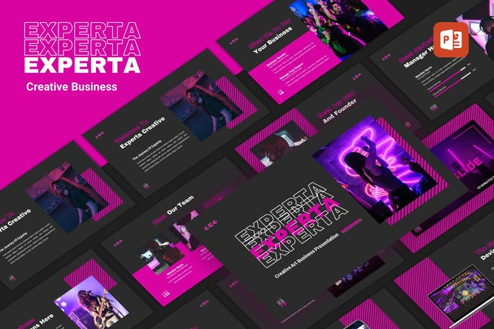 Thumbnail for Experta - Creative Business PowerPoint Template