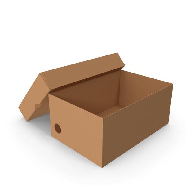 Thumbnail for Картонная коробка Маленькая Открытая