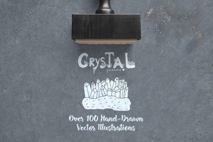 Thumbnail for Crystal Paradise Vector Kit