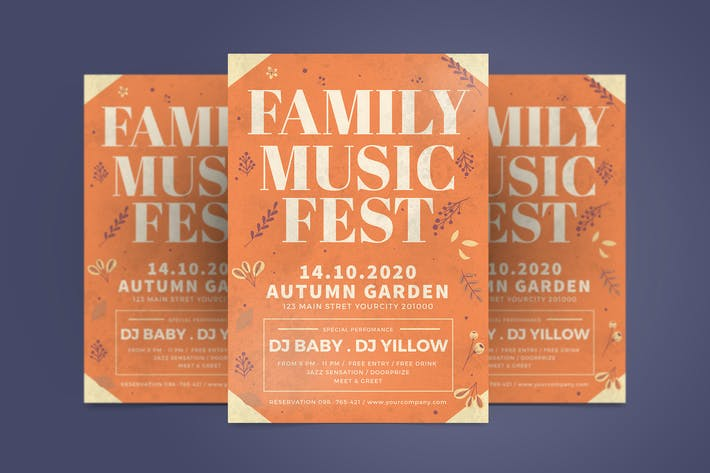 Thumbnail for Autumn Family Flyer