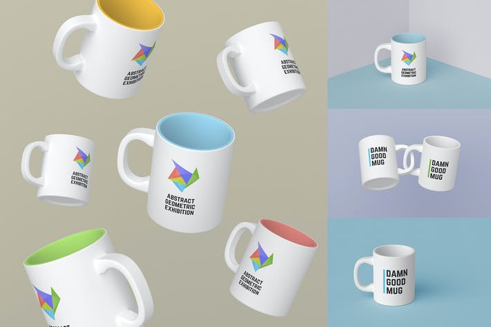 Thumbnail for Mugs Mockups Pack
