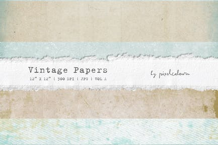 Vintage Papers or Backgrounds A