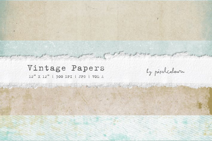 Thumbnail for Vintage Papers or Backgrounds A