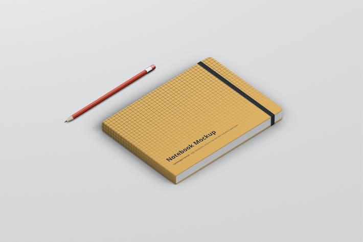 Notebook Mockup Landscape Format