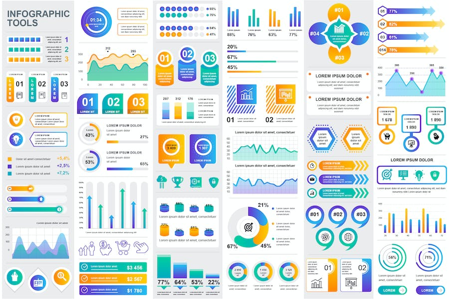Collection Infographic Design