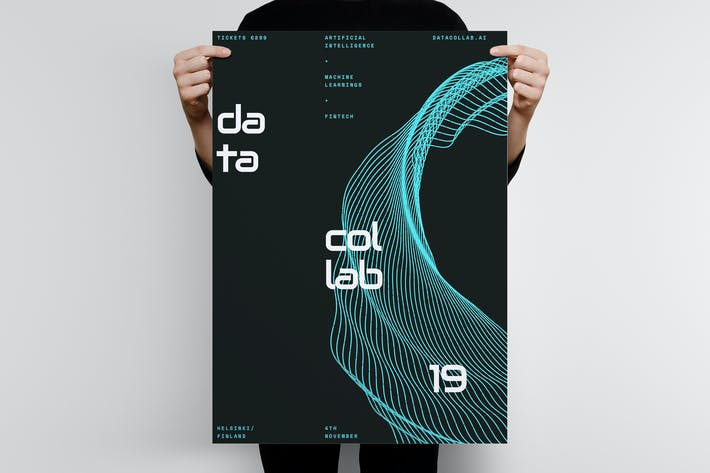 Thumbnail for Data Collab Poster Template 3