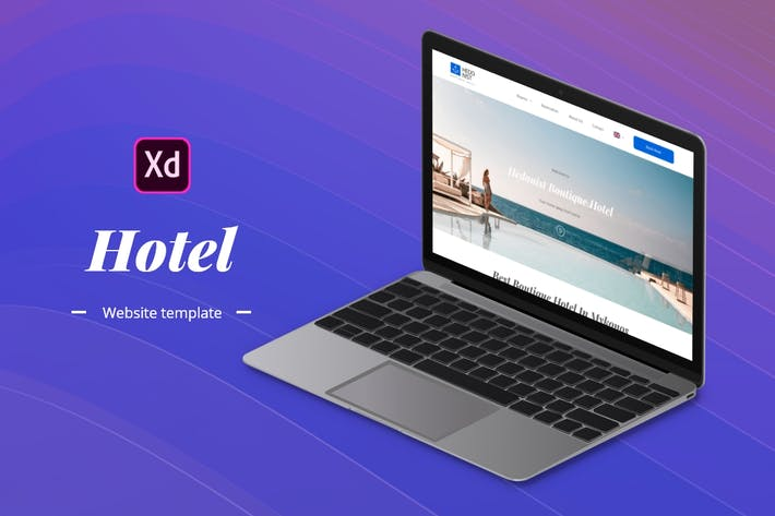 Thumbnail for Hotel Website Template