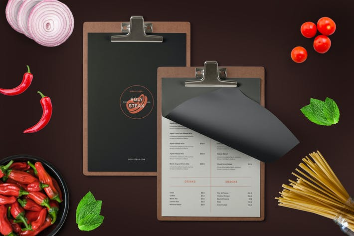 Thumbnail for Restaurant Menu + logo