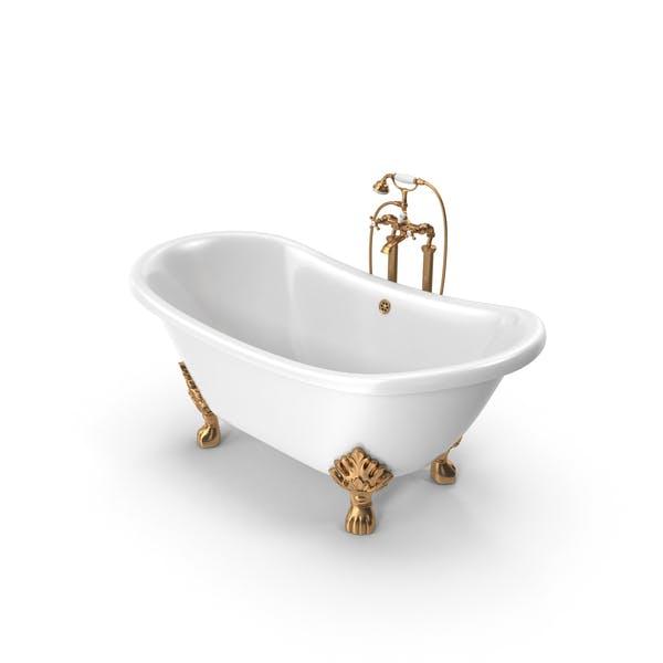 Винтажная ванна