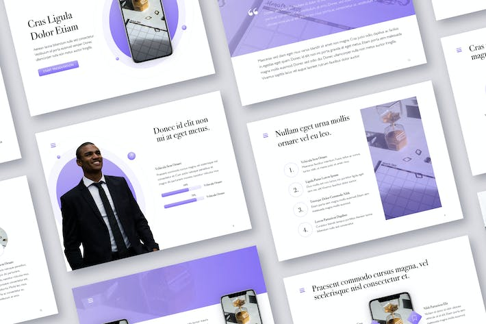 Thumbnail for Wide Range PowerPoint Template