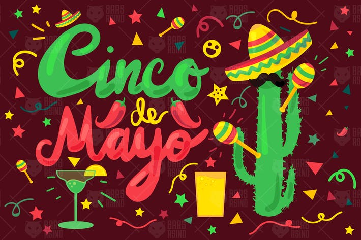 Thumbnail for Cinco De Mayo Illustration