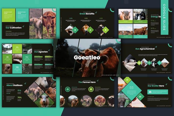 Thumbnail for Goeatleo - Google Slides Template