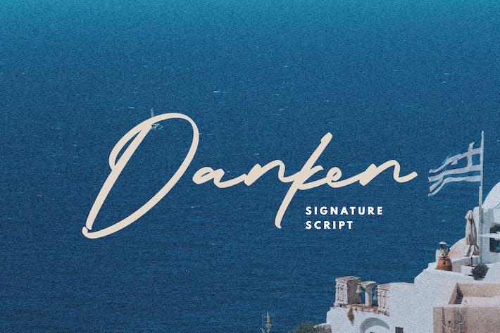 Thumbnail for Danken - Script de signature