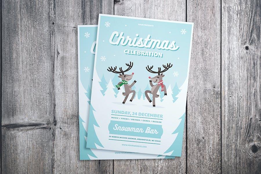Christmas Celebration Flyer