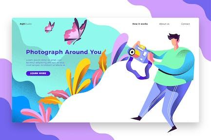 Fotografie - Banner & Landing Page