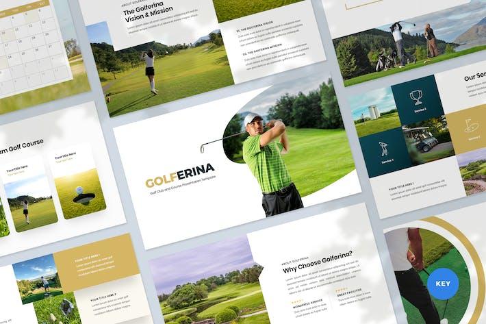 Thumbnail for Golf Club & Resort Keynote Template  Presentation