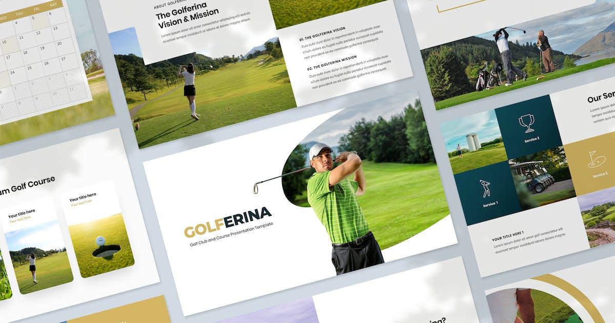 Download Golf Club & Resort Presentation Keynote Template by Krafted