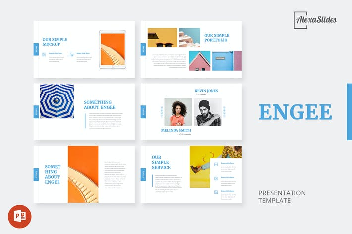 Thumbnail for Engee - Creative Powerpoint Presentation Template