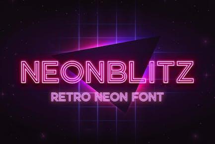 Neonblitz - Neón retro