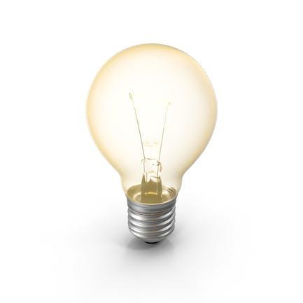 Glühbirne eingeschaltet