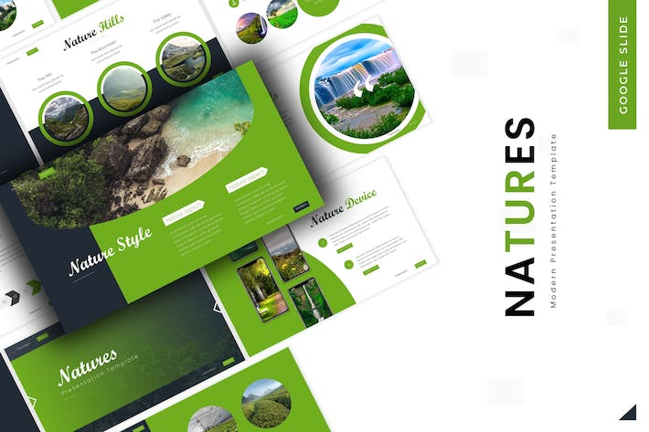 Cover Image For Natures - Google Slides Template