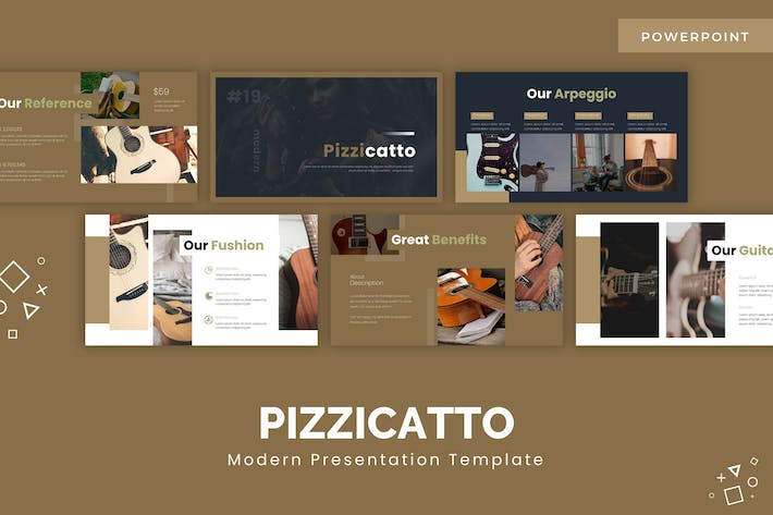Thumbnail for Pizzicatto - Powerpoint Template