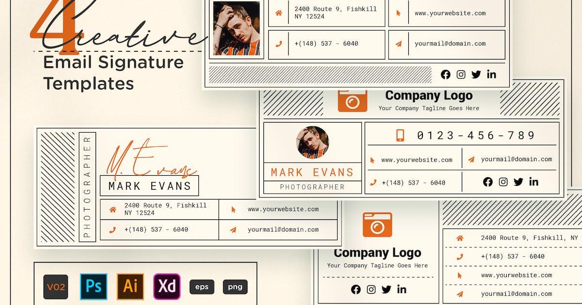 Download Creative Email Signature V02 by telllu