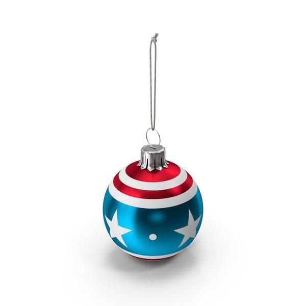 Thumbnail for Christmas American Ball Flag
