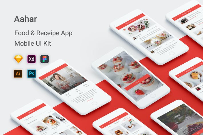 Aahar - Food & Recipe UI Kit