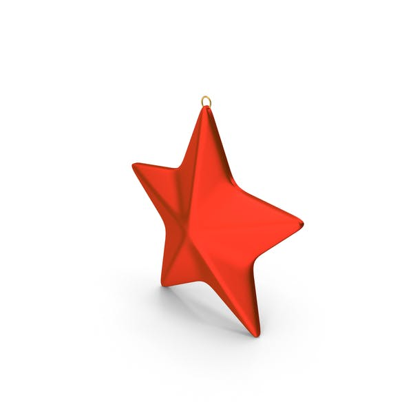 Thumbnail for Star Ornament Red