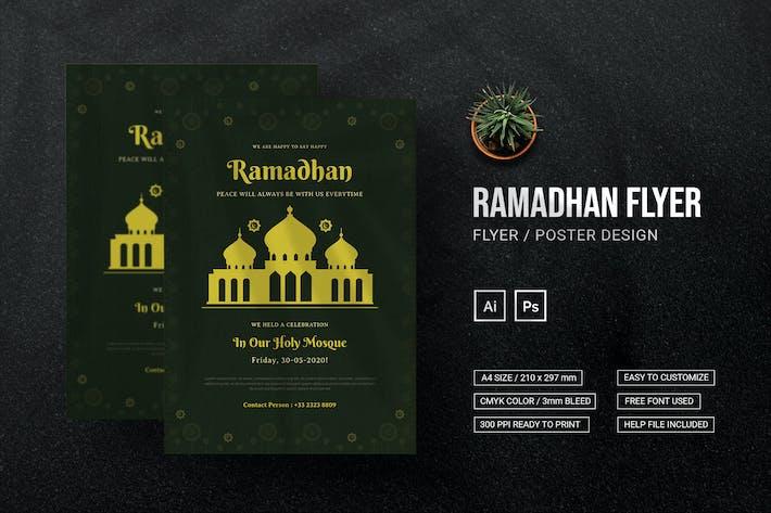 Ramadhan Celebration - Flyer